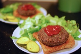 Black Bean Oat Groat Burger 13